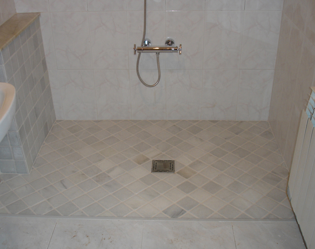 sistema duchafacil, wet shower room, walk in shower, wet-room